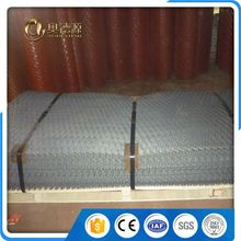 flexible central netting expanded metal mesh fabric