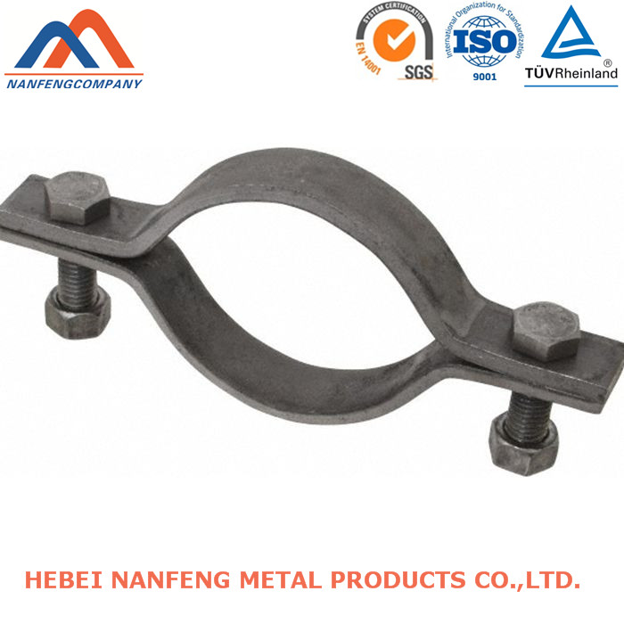 Safety Hose Clamp Export Custom Iron Bending Safety Hose Clamp