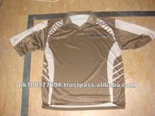 sublimated cricket jersey /Uniforms 100 % polyester