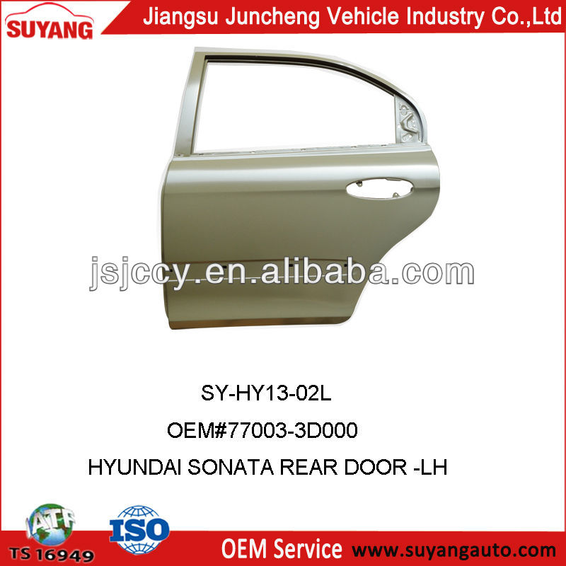 Genuine Hyundai Sonata Rear Door Car Auto Parts