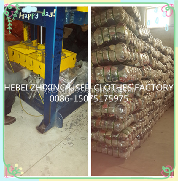 Low price for cream used clothes China Korea wholesale factory company used clothing of africa