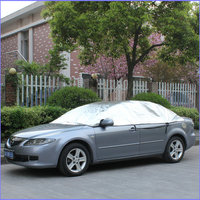 Quality half car cover/ sunshade half car cover at great price with free samples