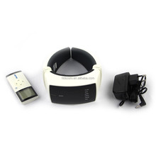 New Products heating pulse vibrating neck kneading massager for neck pain relief