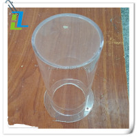 Clear color acrylic tube for sale plastic acrylic pipe