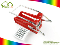 Manual plastic potato slicer,french fry cutter,potato chipper