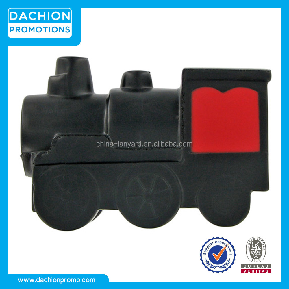 Promotional Train Engine Stress Ball/Train Engine Stress Toy/Train Engine Stress Reliever
