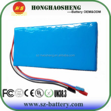 Long cycle life 36V 20Ah 10s10p lithium rechargeable battery 36v lithium ion battery pack for E-scooter/E-vehicle