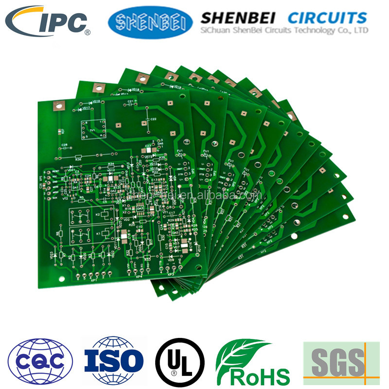 UL ROHS Automotive dashboards pcb tv tuner cfl pcb circuit boards