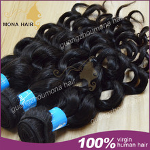 2015 May hot sell 7a unprocessed virgin human hair 100% Vietnamese hair