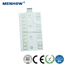 best quality PET tactile LED membrane switch 5v led switch push button switches
