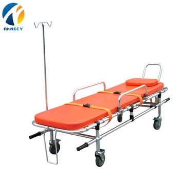 AC-AS012 china supplier strong structure aluminium alloy ferno ford transit ambulance trolley bed sizes