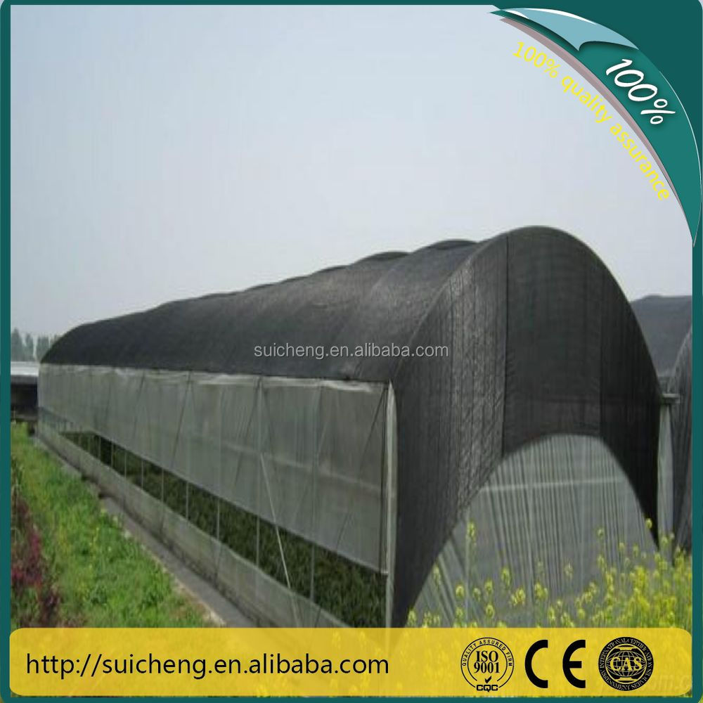 Free Sample Black sun shade net 4*50m for greenhouse shade cloth