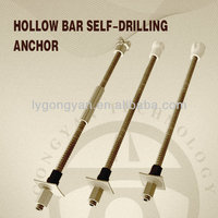 high strength self drilling steel hollow threaded rod