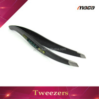 TW1122 Professional lash extension tweezers silkscreen eyelash hot sale tweezers