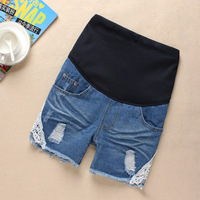 GZY maternity clothes fashion cotton jeans style five pockets women short shorts