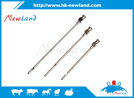 Newland new article Veterinary Cow teat milk passing needle