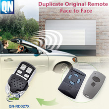Qinuo radio remote control QN-RD027X for garage door duplicate Hormann Marantec face to face