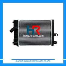 Aluminum Plastic car radiators for Toyota HIACE KR-KDH200K MT