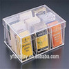 High quality acrylic tea bag storage box