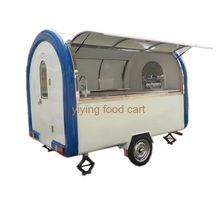 Heavy Duty Market Stall/van/truck Mobile Catering Food Trailer for sale