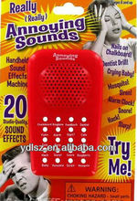 Annoying Sound Effects Machine for promotional gift,game console,fridge or others