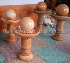 manfacture carved natural stone floating water ball
