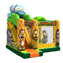 Animal playground rent a bounce house jumpers bouncer inflatable slide for kids