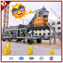 Jianxin Manufacture Hzs25 25M3/H Mobile Precast Small Ready Mixed Mini Concrete Batching Plant For Sale 25M3