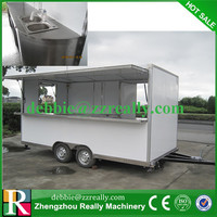 all driven moving van truck/mobile fast food car