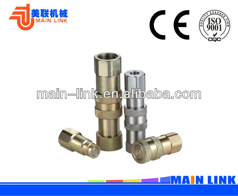 High Pressure ,Flat Face Hydraulic Quick Coupling
