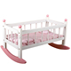 "18"" Doll NC Paint MDF E1 Easy Assembly Doll Cradle, Best Wooden Toy Furniture For Wholesale"