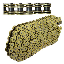 Motorcycle Parts Drive Chain 530 Pitch Heavy Duty Gold O-Ring Chain 120 Links For Honda Yamaha Suzuki Kawasaki