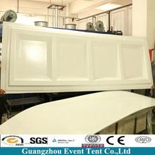 Tent Accessory Sidewall ABS Solid Wall / Hard Wall For Sale