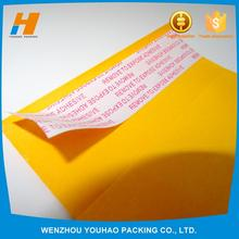 Hot selling custom bubble envelope kraft bubble mailers with high quality