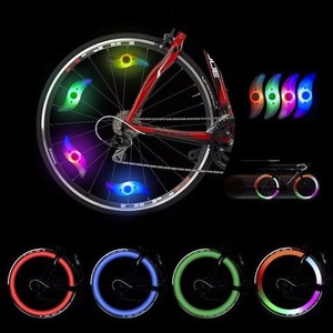 Bike Accessories Wholesale Bike accessories light LED Programmable Led Bicycle Wheel Light