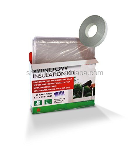 double sided adhesive film window insulator kit