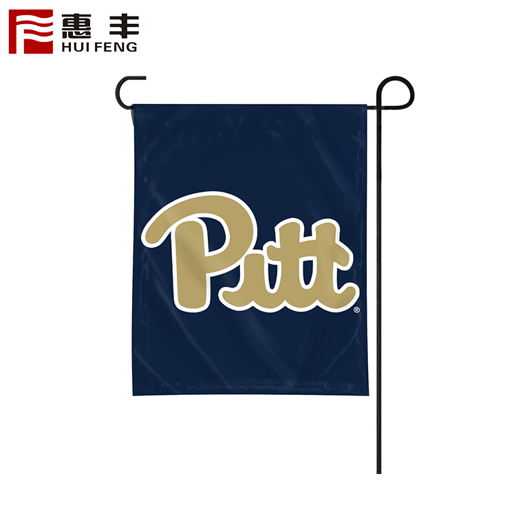 Wholesale independence day garden flag set with pole and clips