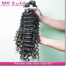 Ms Lula top grade hair pieces for black women on alibaba sale 6a virgin malaysia hair curly wave style women
