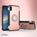 360 Degree Rotation Shockproof Impact Protective Phone Ring Holder Hybrid Back Cover Case For iPhone 8