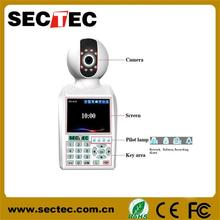 Videophone alarm monitor function IP camera cctv