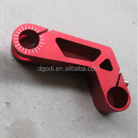 custom made cnc aluminum brake clutch lever as motorcycle brake lever