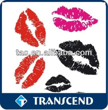 lip sticker lip art tattoo sticker lip tattoo sticker /Promotional Gifts Temporary Henna Tattoo Sticker