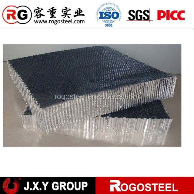Thickness 5-50mm high-efficiency carbon air filter sheet with aluminum honeycomb core for solar panel