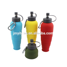 New unique design portable silicone pet dog water bottle