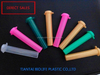 Plastic Blunt Tube J-tube joint container tubes