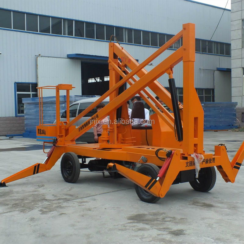 Truck mounted articulated boom lift/Engine drived crank arm aerial work platform