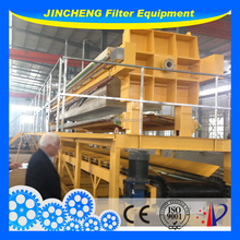 JinCheng Chamber filter press for mixed sludge and biological sludge