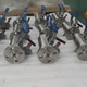 double block and bleed DBB ball valve with bleed valve