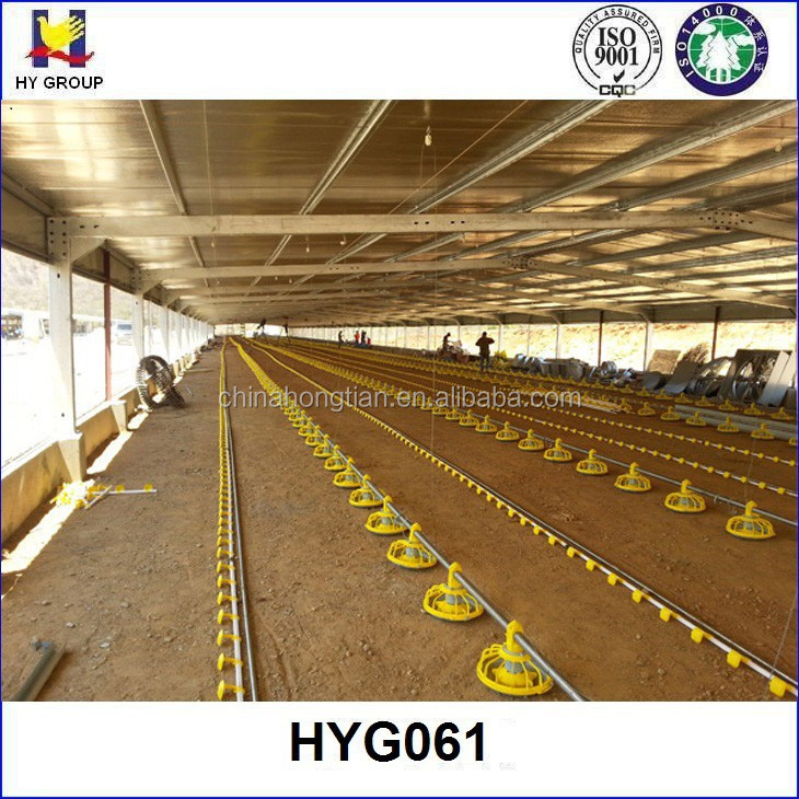 prefabricated chicken poultry shed