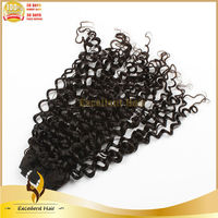Cheap Direct Factory 100% Natural Black Girl Indian Remy Hair Extensions